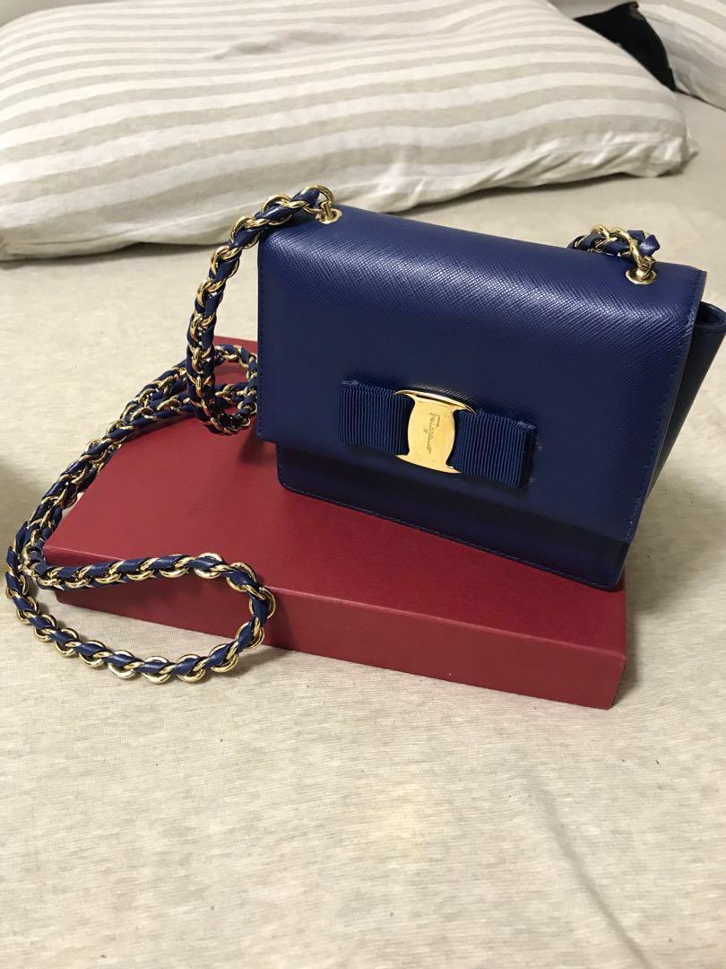 Ferragamo mini chain bag
