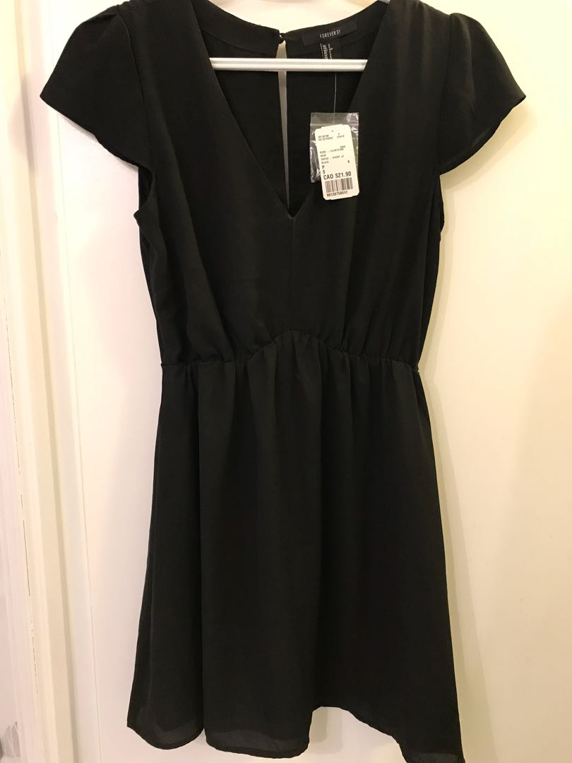 Forever21 Black Dress - Size Small