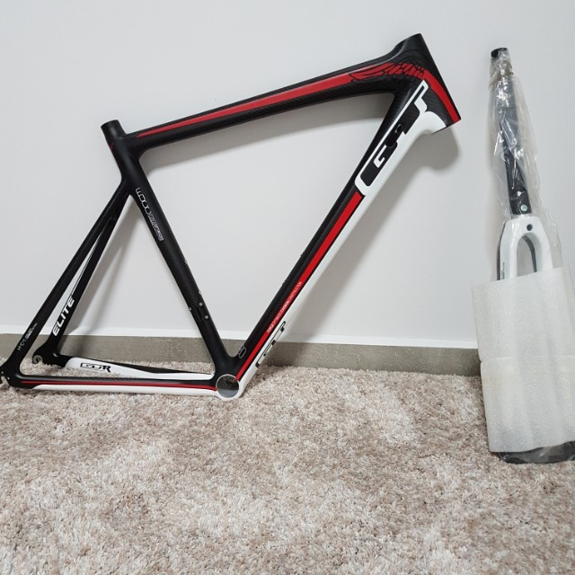 GT Elite Carbon road frame, Bicycles & PMDs, Bicycles on Carousell