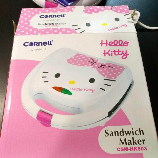 28f2b5ff6f Hello Kitty Sandwich Maker