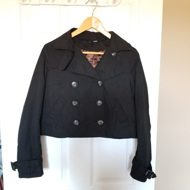 H&M Amsterdam Cropped Jacket
