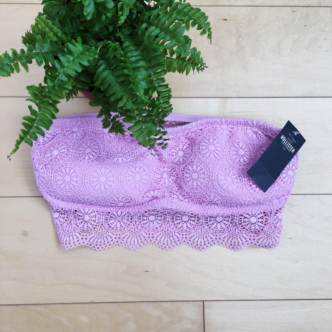 Hollister pink bandeau