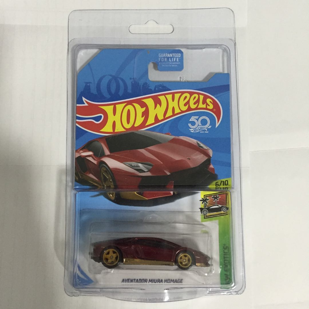 hot wheels lamborghini aventador miura super treasure hunt, toys