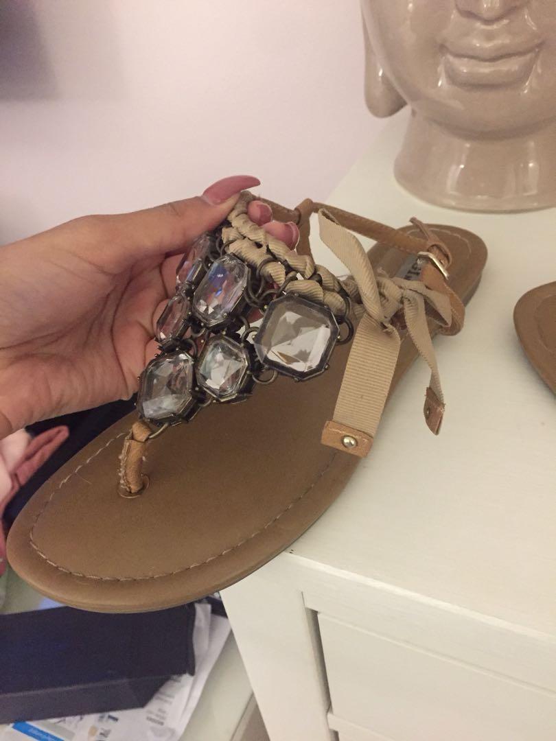 Jewel Sandals - Size 8.5