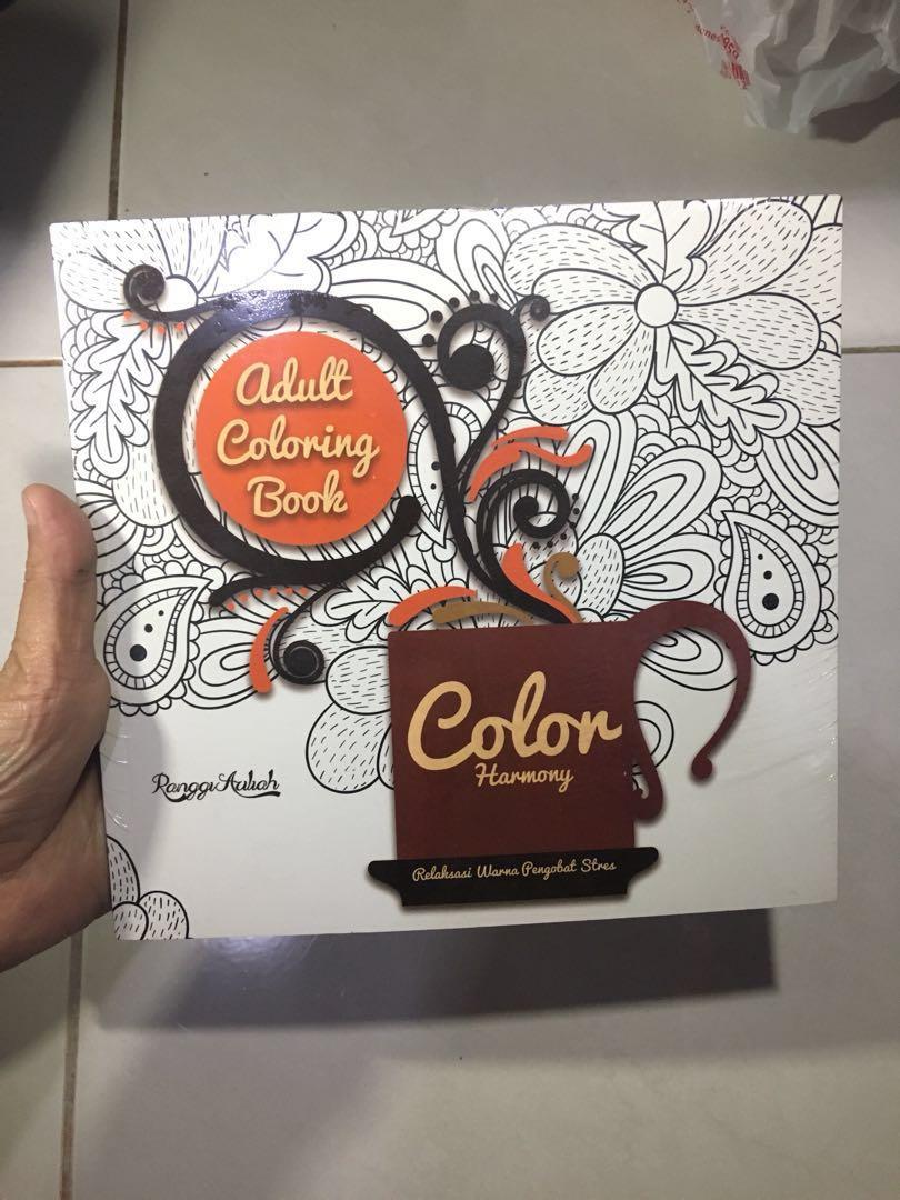 JUAL RUGI Adult Coloring Book NEW Masih Ada Harga Gramedia Buku