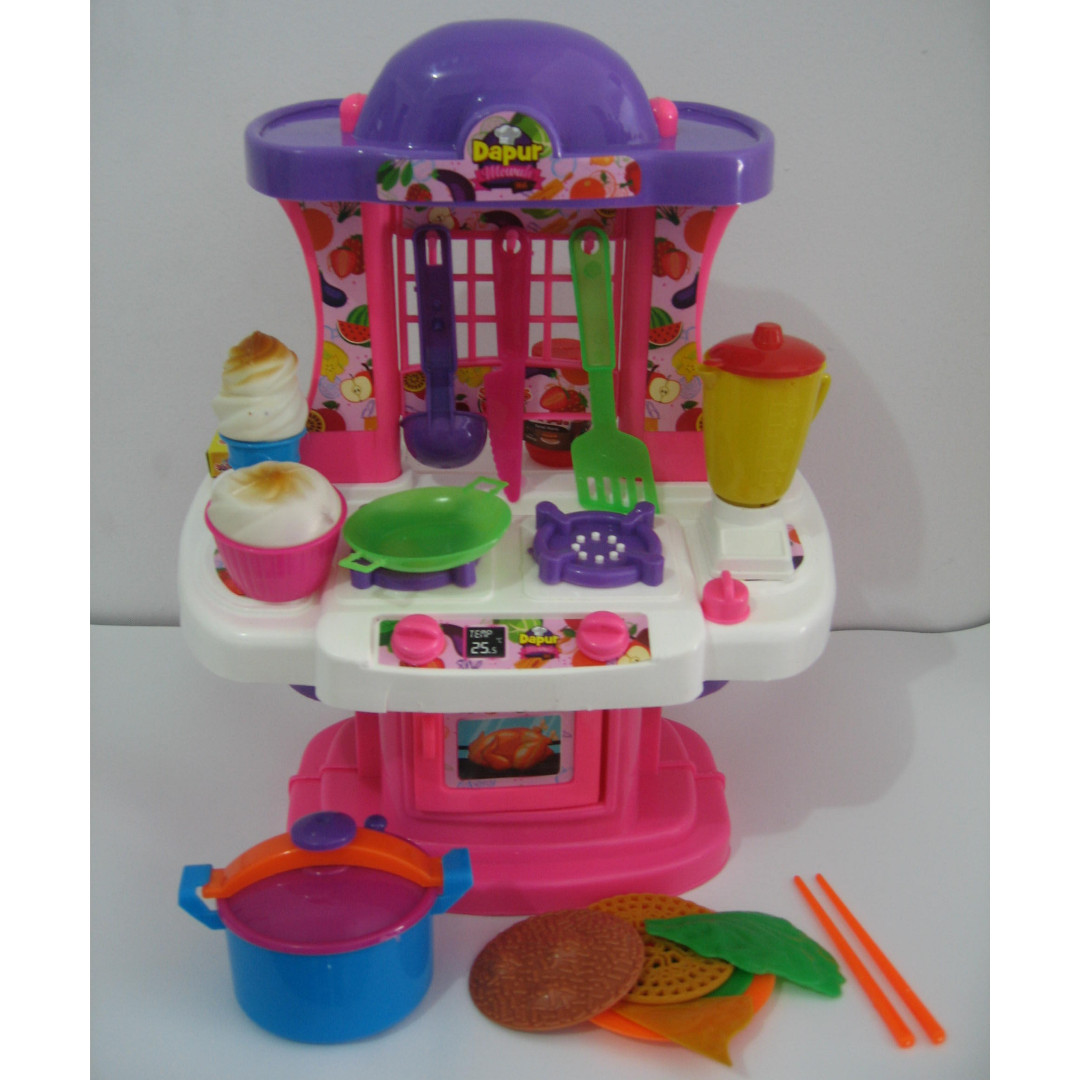 Mainan Kitchen Set Mewah Dapur Mewah 966 Babies Kids Toys
