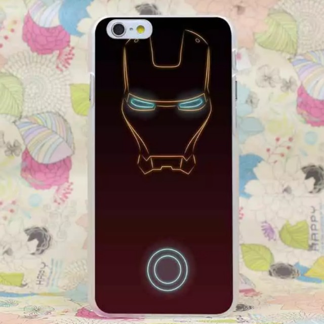 purchase cheap a0cda a1489 Marvel Ironman Light Line iPhone X Case iPhone 8 7 6 Plus Case Avenger  ironman 2 energy iPhone Case