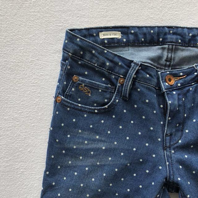 (New) Quicksilver polka dot jeans