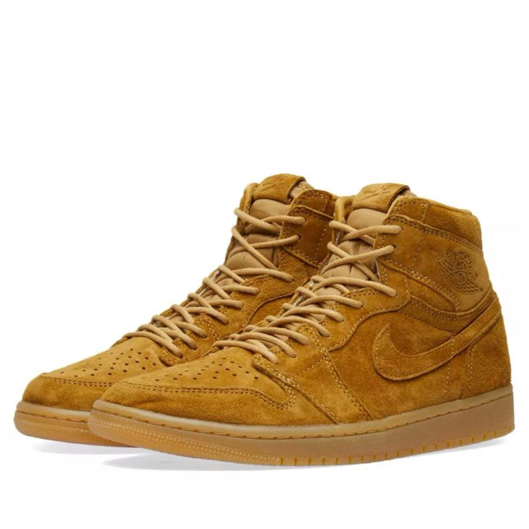 NIKE AIR JORDAN 1 RETRO HIGH OG  WINTER WHEAT  ELEMENTAL GOLD   GUM YELLOW 830b2b1a6