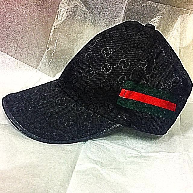ORIGINAL GUCCI  PRE-LOVED BASEBALL CAP W  NET  1b28de787d5