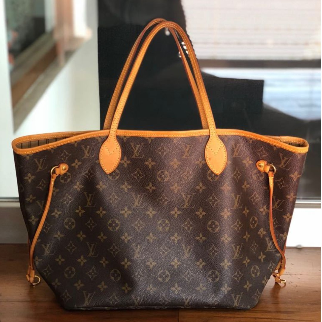 0c643fc994c7 PRE-LOVED LUXURY LOUIS VUITTON NEVERFULL BAG