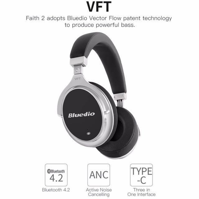 d67c5a5e4b1 PROMOTION)Bluedio F2 Active Noise Cancelling Wireless Bluetooth ...