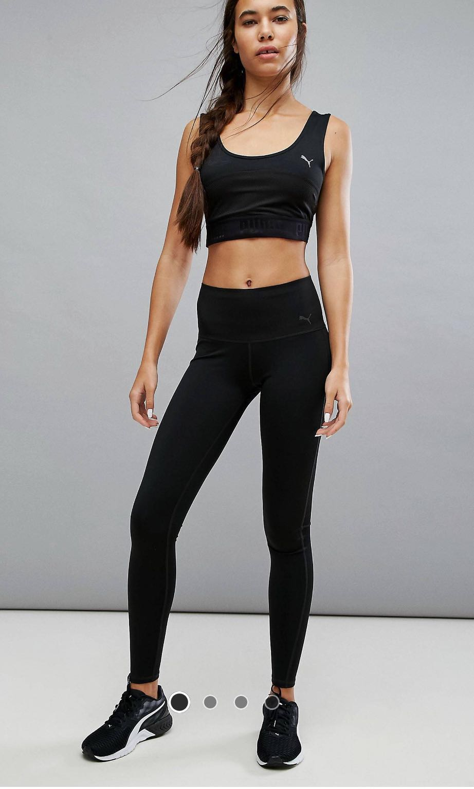 554e93f867aace Puma Everyday Train Tights in Black on Carousell
