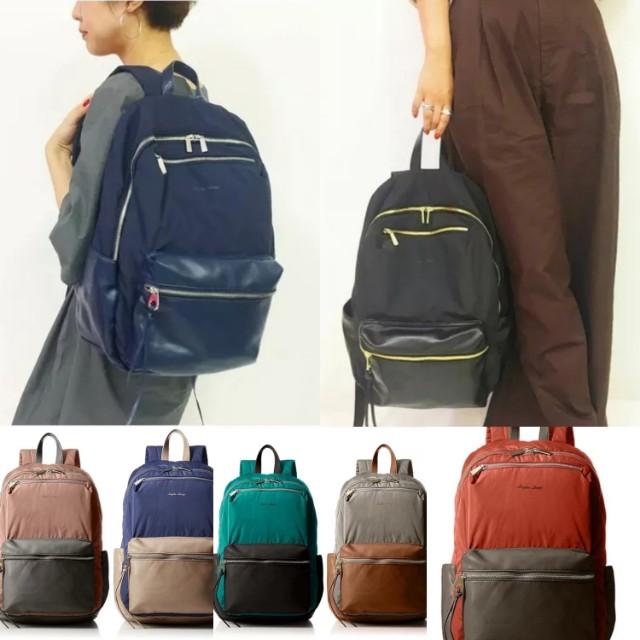 Re Stock Japan Anello Legato Largo Nylon Backpack With