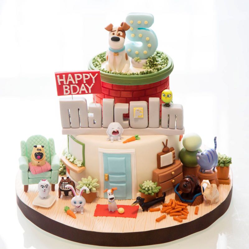 Secret Life of Pets Birthday Cake, Food & Drinks, Baked Goods on ...