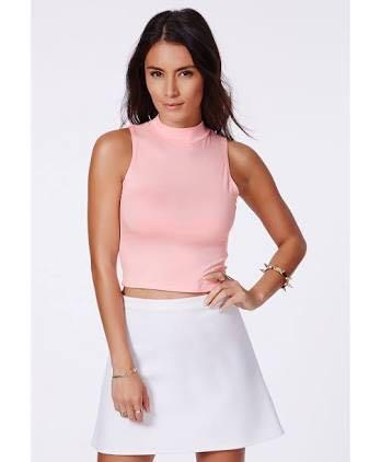 Size 10 | Níníe Pink Crop Top