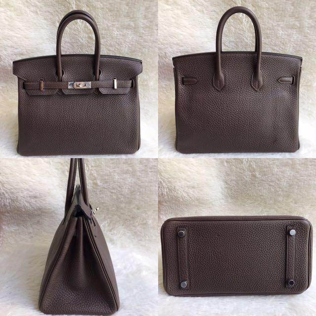 80c97c91db Sold-Small Beauty⚡️Hermes Birkin 25 Togo leather Palladium ...