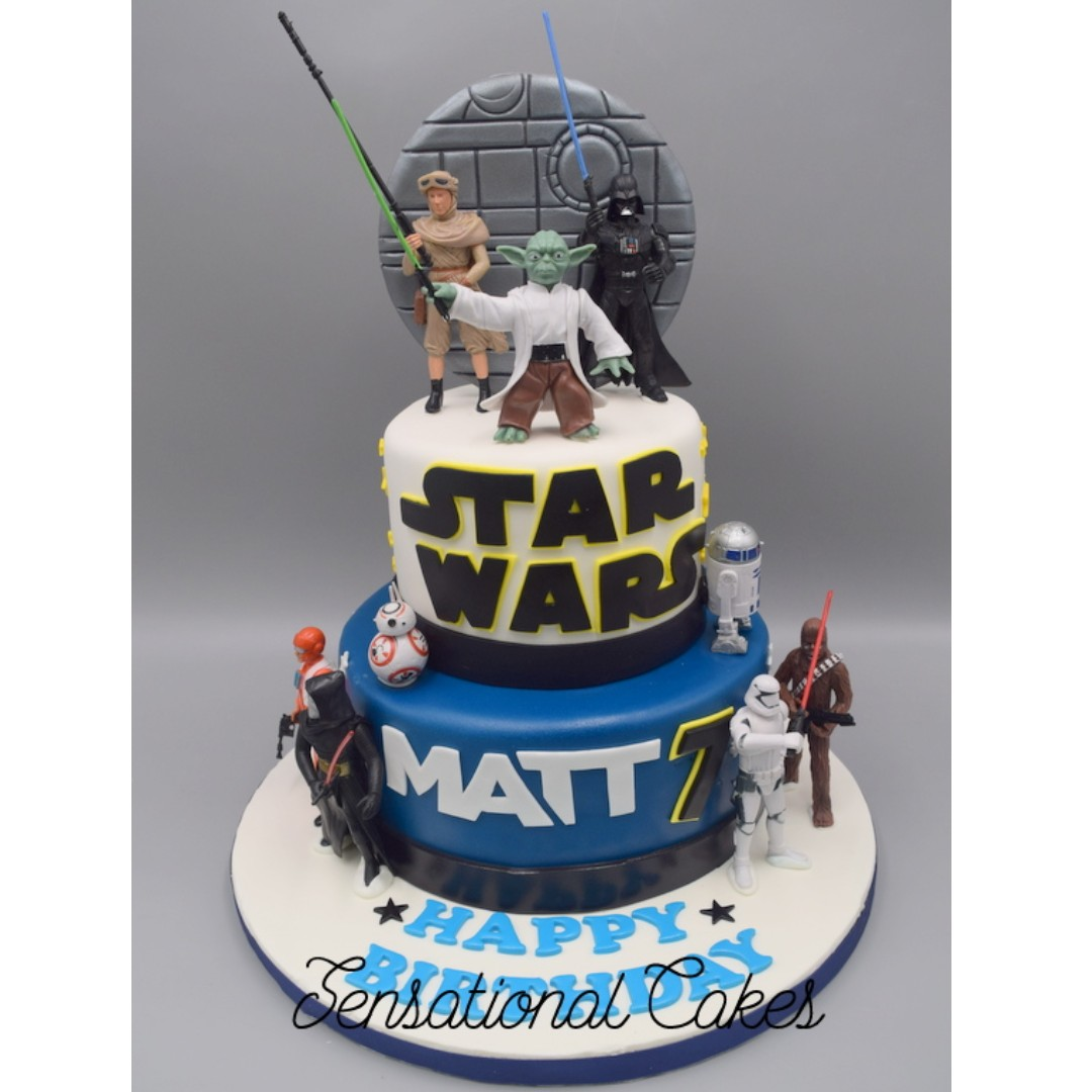 Star Wars Theme 3d Cake Bespoke Theme Custom Cakes Best Art Cake