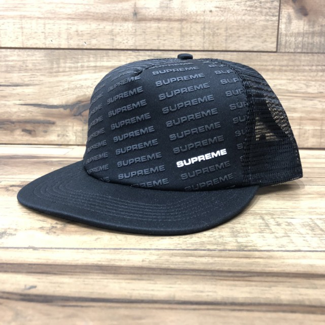 d871b4a3e Supreme ss18 Repeat mesh back 5Panel cap