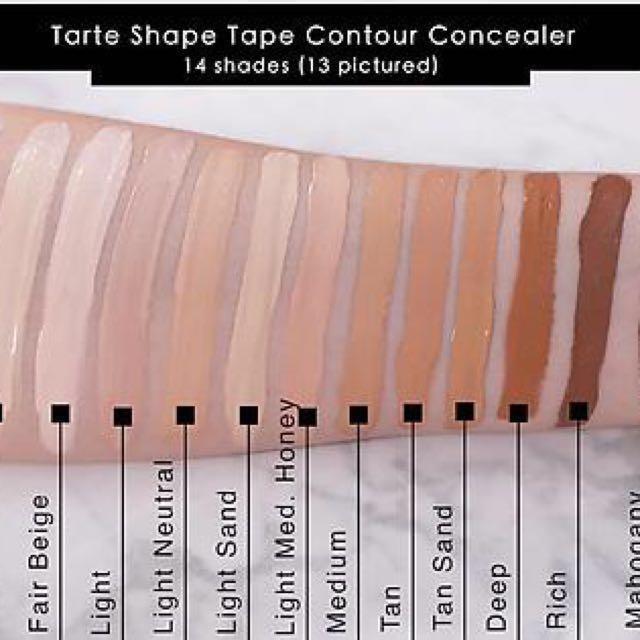 Shape Tape Concealer by Tarte #20