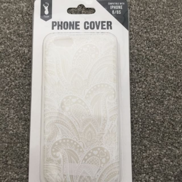 Typo iPhone 6/6S case