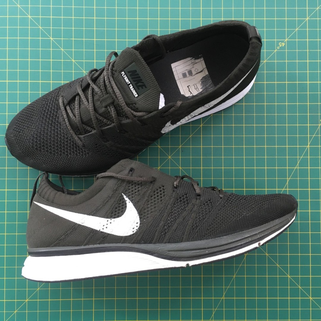 9983ba99fc39 ... buy us8 nike flyknit trainer sequoia rare mens fashion footwear  sneakers on carousell 31582 7f430