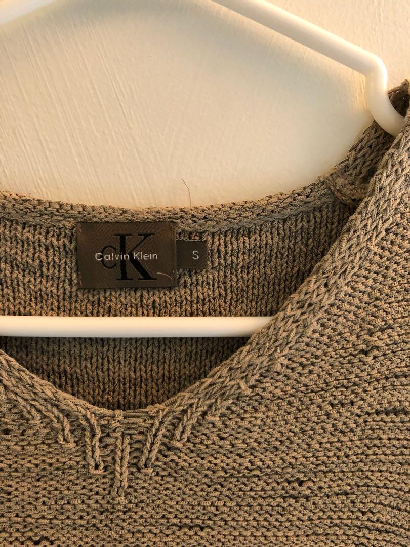 Vinatge Calvin Klein Crop Top
