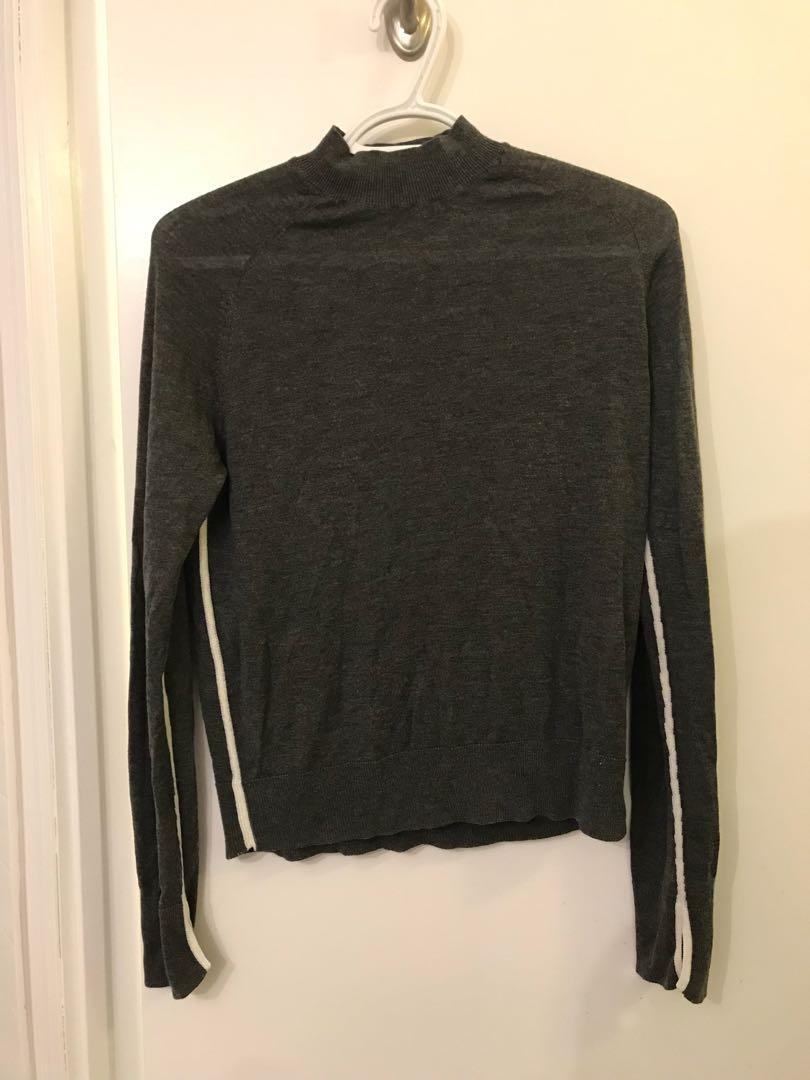Zara Grey Turtleneck - Size Large