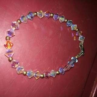 Swarovski bracelet (opal)
