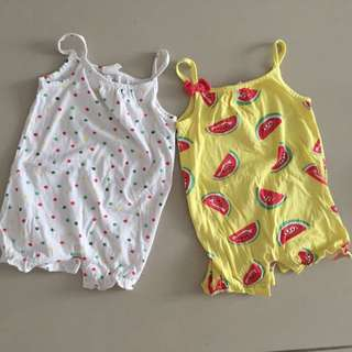 H&M rompers Set size 2-4m
