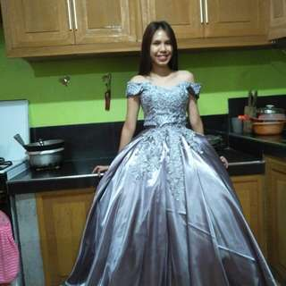 Gown for debut & Prom FOR RENT ONLY