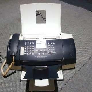Hp Officejet J3600 Printer Fax Scanner Copy
