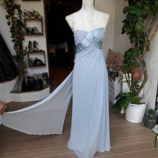 SALE POWDER BLUE GOWN