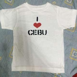 Cebu tshrt 3yo