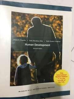 Human Development (11th edition) by Diane E. Papalia, Sally Wendkos Olds and Ruth Duskin Feldman