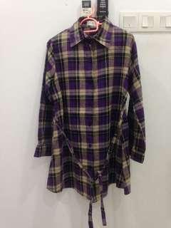 Checkered Shirt Maternity