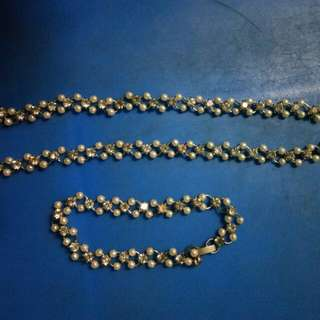Sagala accessories pearls and crystal