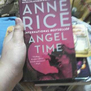 Angel time Anne Rice with plastic cover