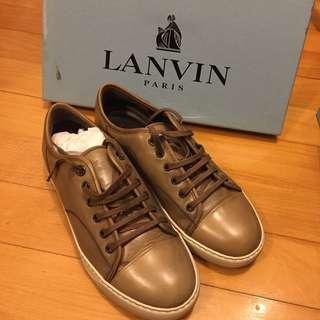 LANVIN Calfskin Trainer Shoe
