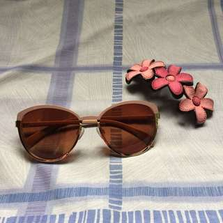 Repriced! Old Rose Sunglasses (Women's Eyewear)