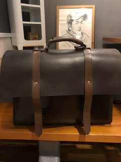 Satchel and Page Briefcase men's bag