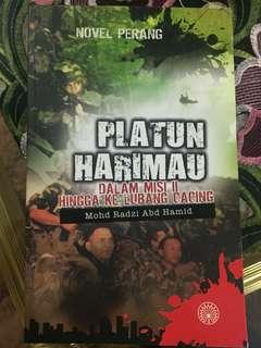 Platun Harimau Dalam Misi II Hingga Ke Lubang Cacing(karya Mohd Radzi Abd Hamid)