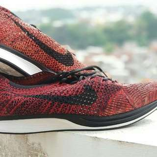Nike Flyknit Racer University Red & Black