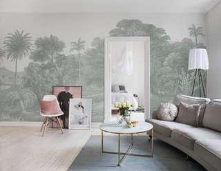 Jungle vintage, wallpaper