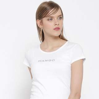 Mango shirt white new with tag!