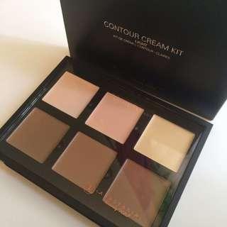 BNIB Anastasia cream contour palette light