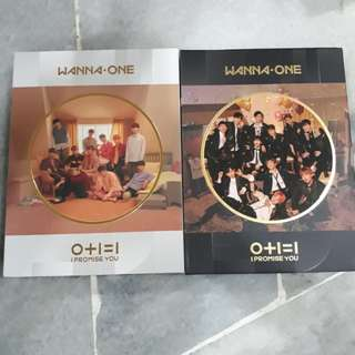 WANNA ONE I PROMISE YOU UNSEALED ALBUM