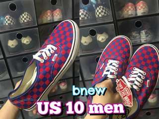 Vans Authentic Golden Coast Red-Blue