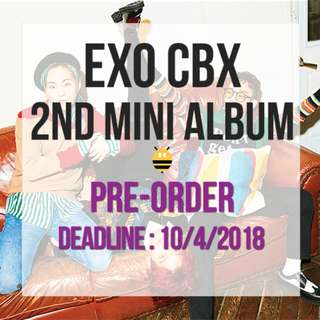 EXO CBX - 2nd Mini Album (Blooming ver / Day ver)