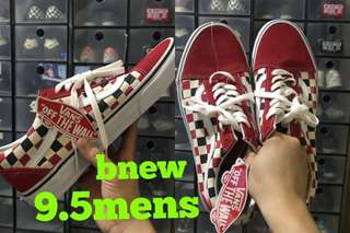Vans OS golden coast (red-blue-check)